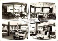 Postcard Nottuln in Westfalen, Inneres der Walgaststätte Leopold Froning