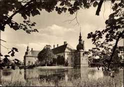 Postcard Münster in Westfalen, Schloss Lembeck, Wasserburg des 17 Jahrhunderts