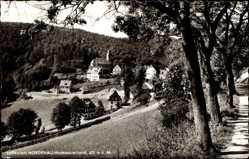 Postcard Nordenau Schmallenberg im Hochsauerland, Ansicht von Dorfstraße aus