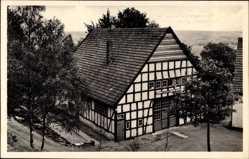 Postcard Nettelstedt Lübbecke in Ostwestfalen, Reichsarbeitsdienstlager