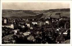 Postcard Zschopau im Erzgebirge Sachsen, Gesamtansicht, Blick über Dächer