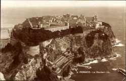 Ak Monte Carlo Monaco, Le Rocher, Festung auf den Klippen