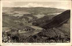 Postcard Altenhundem Lennestadt im Sauerland im Kreis Olpe, Blick ins Hundemtal