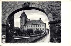 Postcard Grafschaft Schmallenberg im Hochsauerlandkreis, Blick auf das Kloster
