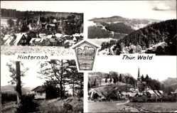 Postcard Hinternah Nahetal Waldau, Thür. Wald, Umgebung