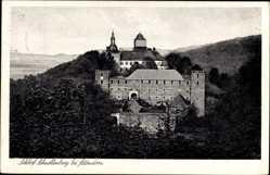 Postcard Attendorn im Hochsauerland, Blick auf das Schloss Schnellenberg