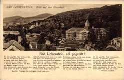 Lied Ak Bad Liebenstein im Wartburgkreis, Blick auf den Kaiserhof