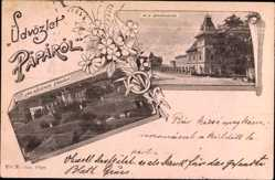 Postcard Oravieza Paparol Ungarn, M. K. Dohanygyar, Jrg. Növerek Zardaia