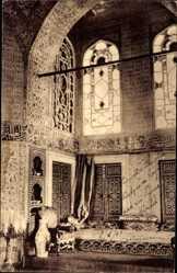 Postcard Konstantinopel Istanbul Türkei, Innenansicht von Bagdad Kiosk