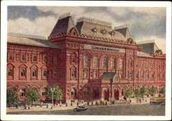 Künstler Ak Moskau Russland, Zentrales Lenin Museum
