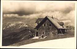 Foto Ak Jesenice Slowenien, Kadilnikova koca na Golici, Gebirge, Schutzhaus