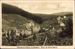 Postcard Altenau im Oberharz, Blick ins kleine Okertal, Wald