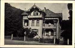 Postcard Bad Harzburg in Niedersachsen, Pension Haus Tannenhof, Nordhäuserstraße 6