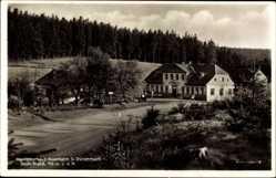 Postcard Stützerbach im Ilm Kreis Thüringen, Waldgasthaus Auerhahn