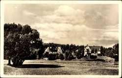 Postcard Stein im Kreis Fürth Mittelfranken, Stadtansicht, Mütterheim, Wiese