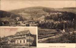 Postcard Silberhütte Harzgerode im Harz, Gasthof zum Silberblick, Inh. H. Zimmermann