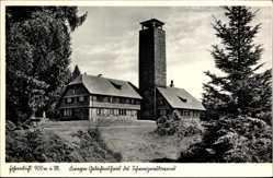 Postcard Hornberg im Ortenaukreis Baden Württemberg, Fohrenbühl, Gedächtnishaus