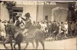 Foto Ak Bad Düben an der Mulde Sachsen, 1000 Jahrfeier 1929, Festumzug