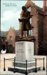 Postcard Stoke on Trent West Midlands England, Wedgwood Monument