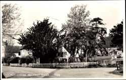 Postcard Hellingly Sussex South East, Church Corner, Straßenpartie