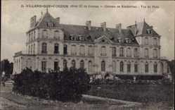 Postcard Villers sur Coudun Oise, Château de Rimberlieu, Vue du Parc