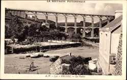 Postcard Bréhec Côtes d'Armor, Le Viaduc, Bretagne pittoresque