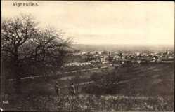 Postcard Vineulles Meurthe et Moselle, Panorama der Stadt