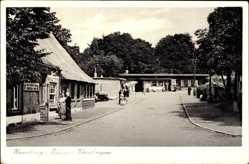 Postcard Hamburg Altona Rissen, Vosshagen, Zum alten Rissener Landhaus