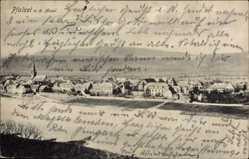 Postcard Pfalzel Trier in Rheinland Pfalz, Blick über den Fluss zum Ort