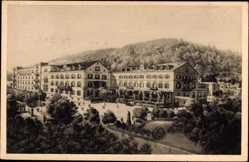 Postcard Heidelberg am Neckar, Victoria Hotel, Bes. Fritz Gabler, Erich Mühlmann