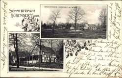 Postcard Hübender Wiehl im Oberbergischen Kreis, Sommerfrische, Pension Scholer