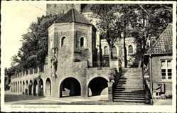 Postcard Ankum in Niedersachsen, Blick auf die Kriegergedächtniskapelle