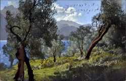 Ak Sommer, See, Gebirge, Nenke und Ostermaier 1839