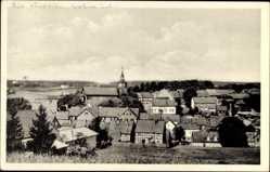 Postcard Benneckenstein Oberharz am Brocken, Blick von Süden, Kirche