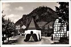 Postcard Rhöndorf Bad Honnef im Rhein Sieg Kreis, Kapelle und Drachenfels