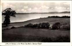 Postcard Dersau am Großen Plöner See, Blick von Dersau Sepel, Felder