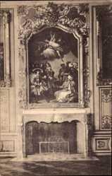 Postcard Oberschleißheim, Königliches Schloss und Gemäldegalerie