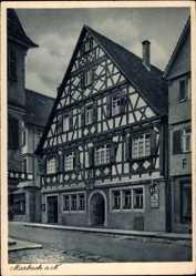 Postcard Marburg an der Lahn, Bäckerei und Weinstube Mühlbach, Bes. Paul Klumpp