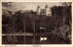 Postcard Bad Neuenahr Ahrweiler in Rheinland Pfalz, Johannisburg, Schwäne