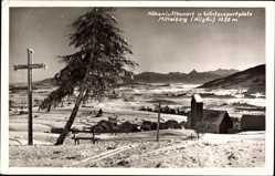 Postcard Oy Mittelberg Allgäu, Wintersportplatz, Höhenluftkurort, Winter, Schnee