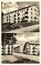 Postcard Falun Schweden, Lustigknopp, Wohnsiedlung, Neubauten