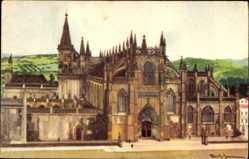 Künstler Ak Batalha Portugal, Mosteiro, Kloster, Monastère