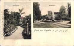Ak Legnica Liegnitz Schlesien, Palmenhain, Schießhaus