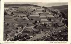 Postcard Eulengebirge Schlesien, Blick nach dem Euldörfel