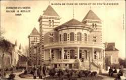 Postcard Royan Charente Maritime, Maison de Cure de Repos et de Convalescence