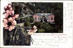 Postcard Warstein im Kreis Soest Nordrhein Westfalen, Bilsteinhöhle, Restauration