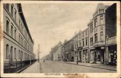 Postcard Holzwickede im Ruhrgebiet Nordrhein Westfalen, Bahnhofstraße, Geschäfte