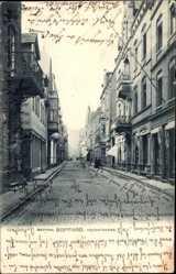 Postcard Boppard im Rhein Hunsrück Kreis, Blick in die Oberstraße, Fassaden, Geschäfte