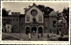 Foto Ak Hallenberg im Sauerland, Freilichtbühne, Die heilige Elisabeth, Szene