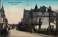 Postcard Kastellaun im Rhein Hunsrück Kreis, Blick in die Bahnhofstraße